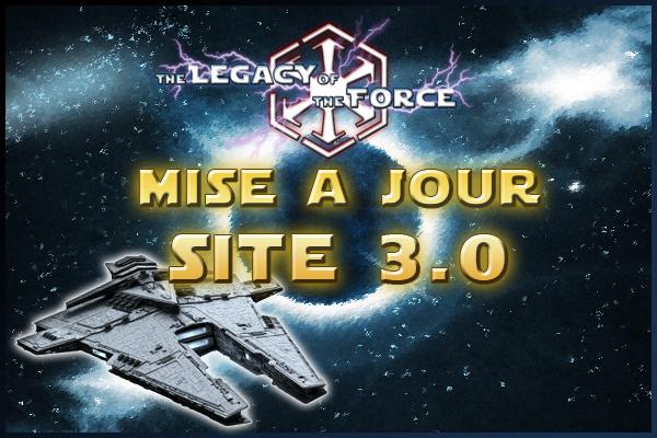 MaJ : Site 3.0